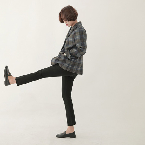 (ZEM.made) Cheese black jean (ver.밴딩-일자컷)[size:S,M,L,XL / 1 color]