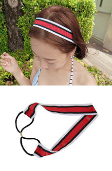 Sporty hairband