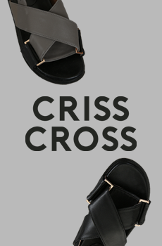 (ZEM.made) Crisscross-샌들[size:230~250 / 2color]