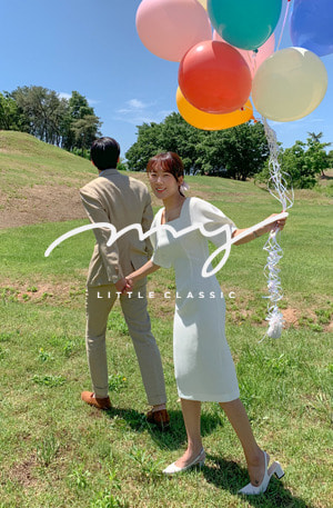 My-littleclassic/Wedding day-셀프웨딩원피스[size:S(44~55), M(66) / 1color]