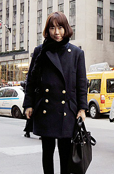 (ZEM.made) Navy coat